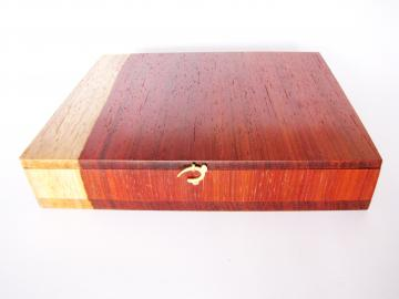 Padauk Wood Jewellery Box : $475
