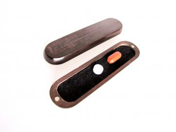 Rosewood Pocket Pill Box : $156
