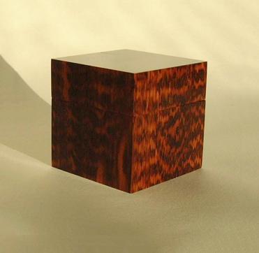 Item No 30 Snakewood Ring Box